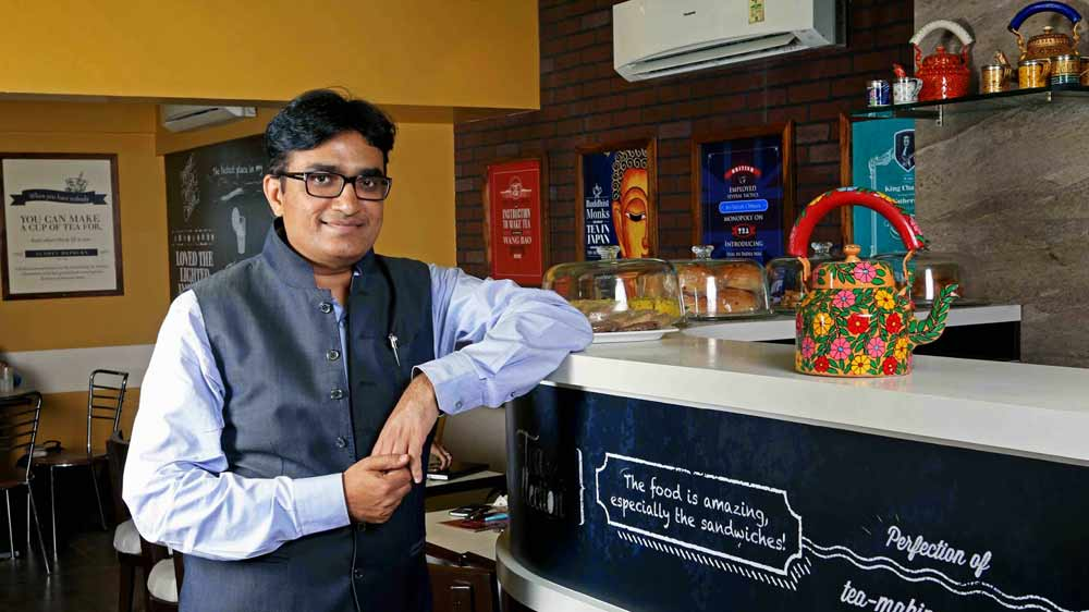 We will add six more tea lounges this year :   Parag Desai, ED at Wagh Bakri
