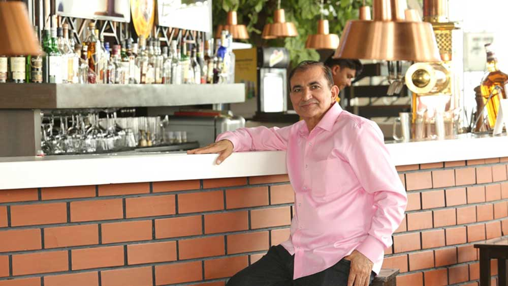5 Questions With :     Ram Niwas Rathi, Owner of 7 Degrees Brauhaus