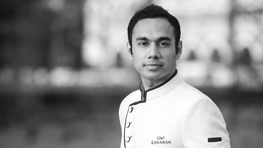 It was my grandfather's suggestion to be a cook- Chef Saransh Goila