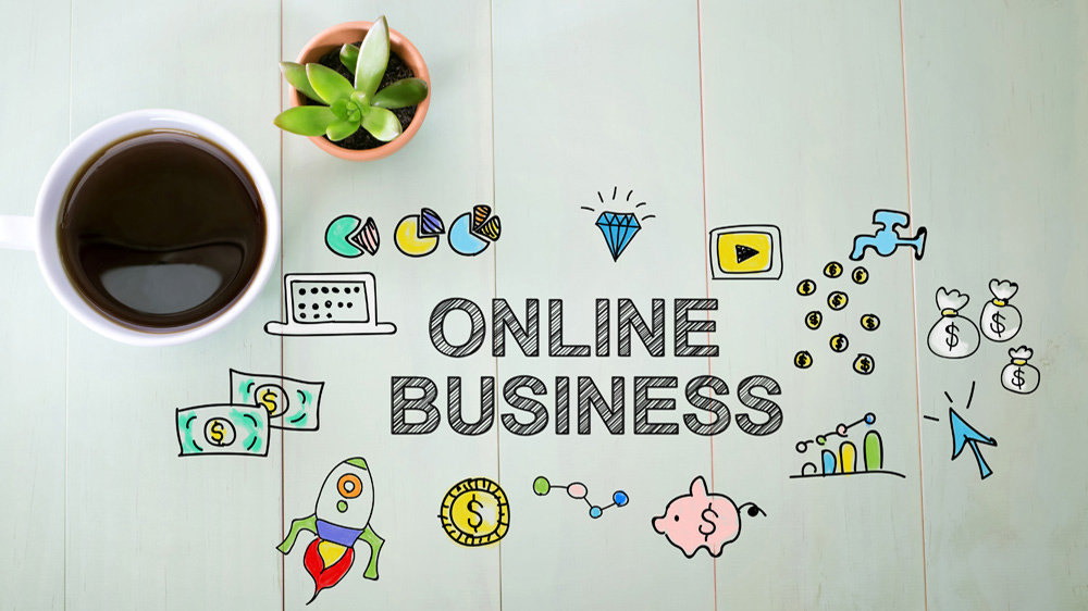 Start an online business