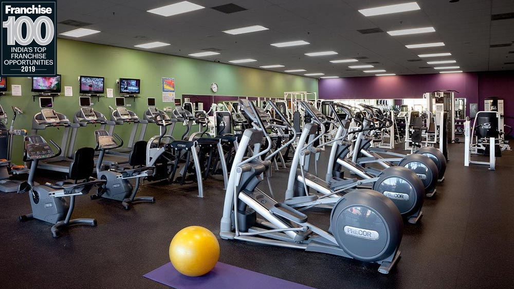 Innovator of 24 Hrs Gym, Anytime Fitness listed among the Top 100 Franchise Brands