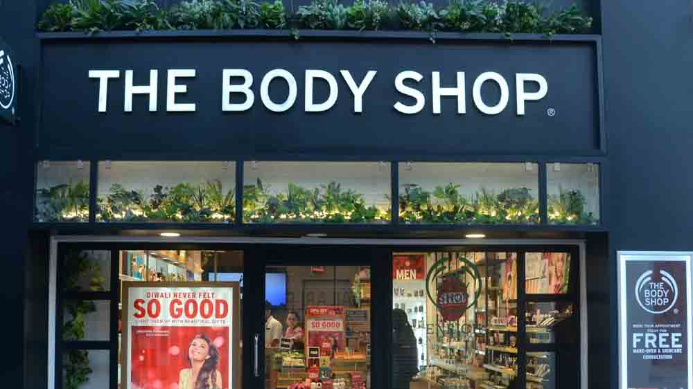 Inside The Body Shop Asia Fit Store