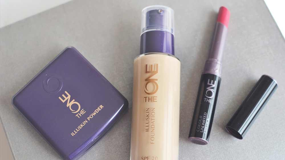 Experiment on vogue make-up looks with Oriflame's The ONE range