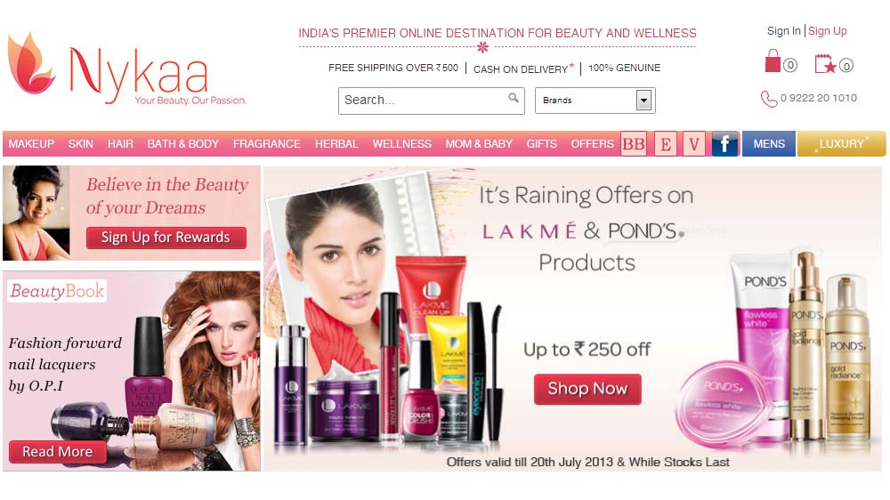 FSN-E-commerce-Ventures-lead-Nykaa-com-looks-for-100-cr-funds-to-expand-private-label
