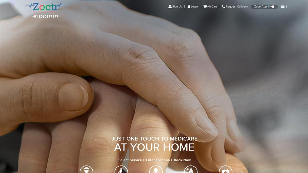 Home healthcare start-up Zoctr raises $1 mn from SPA Capital Group, Organic Wellness & others