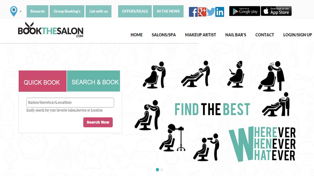 How Bookthesalon is simplifying salon selection and booking process