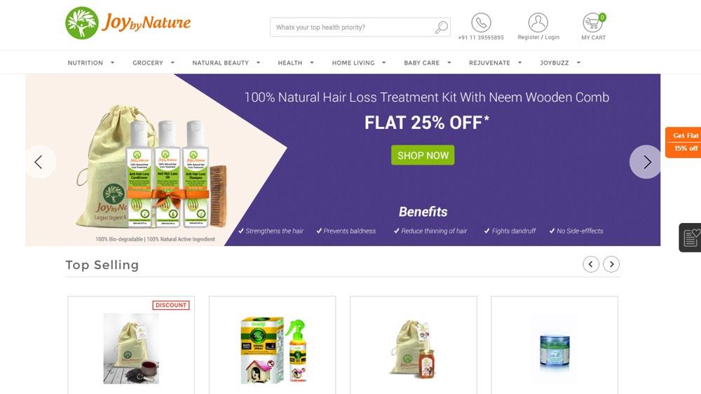 Organic products e-commerce marketplace JoybyNature raises funds from Mumbai Angels & others