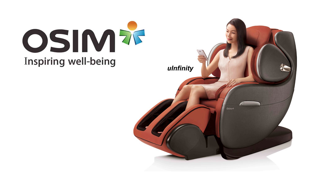 OSIM introduces uInfinity Massage Chair with humanised massage programs