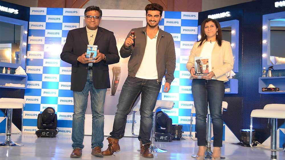 Philips-India-launches-new-range-of-Bodygrooming-solutions-with-brand-ambassador-Arjun-Kapoor