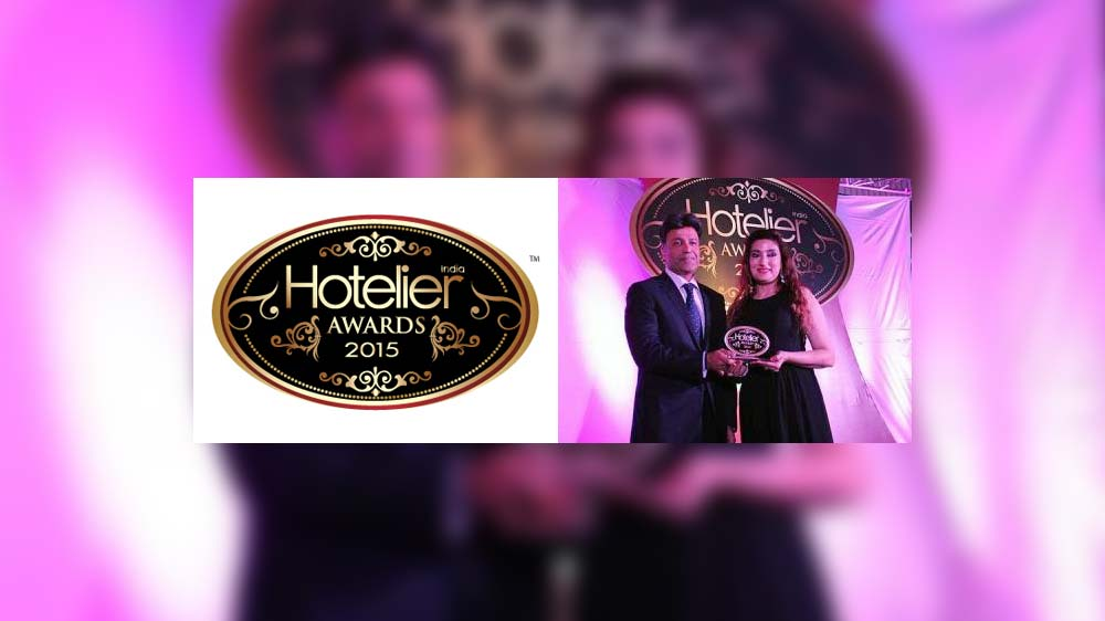 Sanjana Bhandari wins 'Spa and Fitness Person of The Year' title at Hotelier India awards