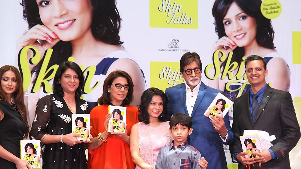 Skin specialist Dr Jaishree Sharad launches her first guide book 'Skin Talks'