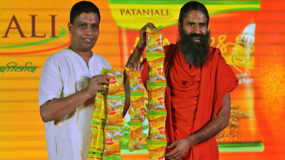 Yoga Guru Baba Ramdev set to feed Ayurvedic Maggi to Indian consumers