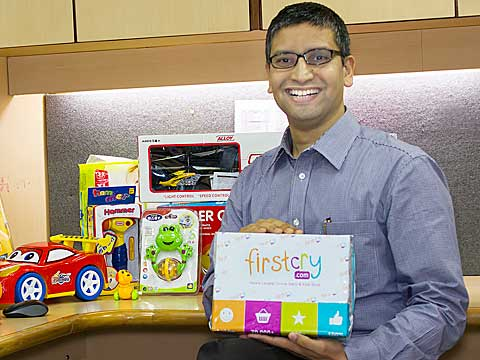 We are running exclusive gift box program in hospitals for new parents  Supam Maheshwari