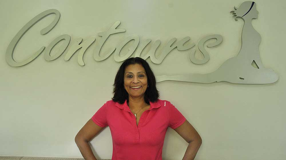Interview With :   Chandra Gopalan, Founder of Contours Fitness studio India
