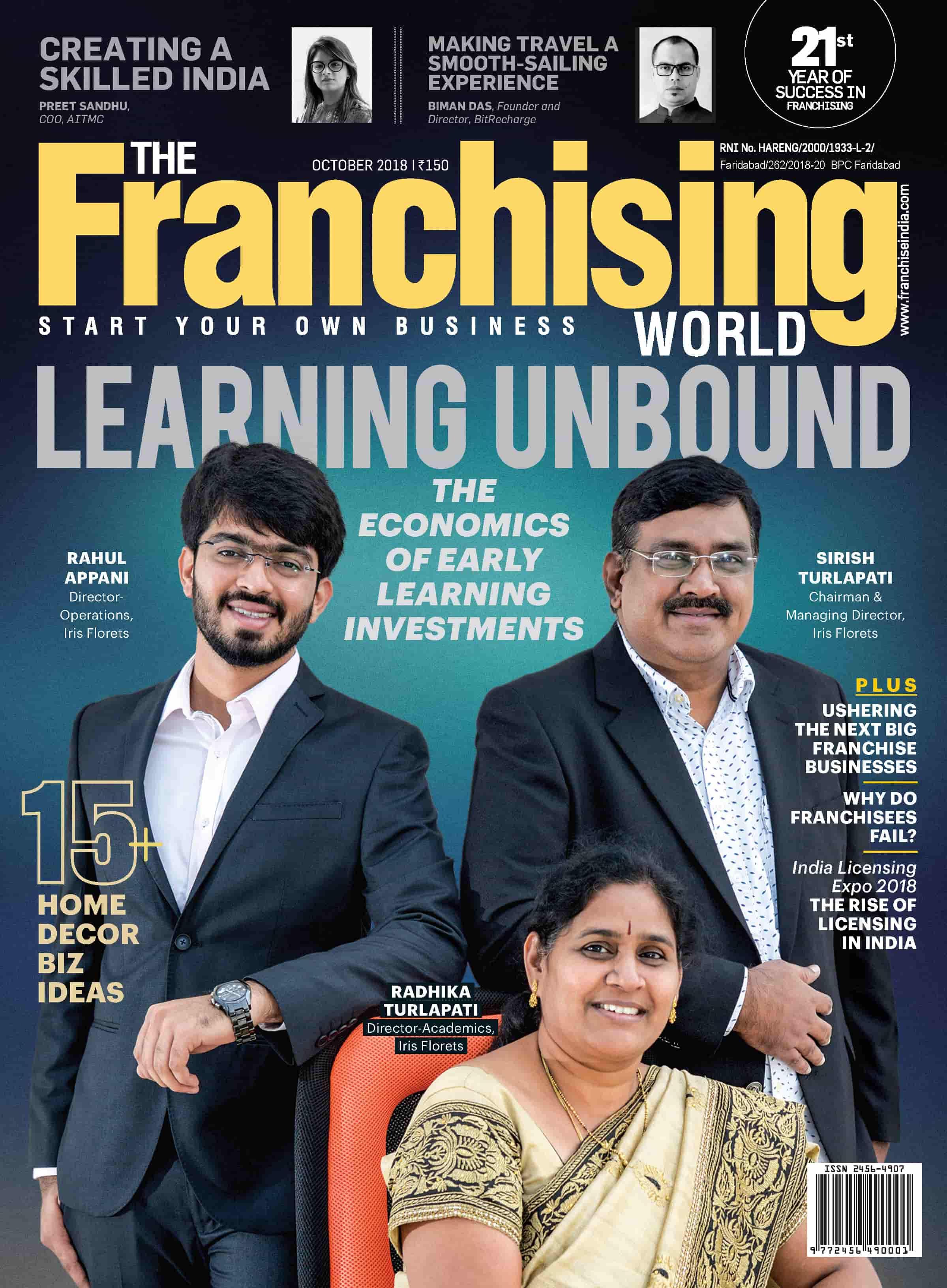 Top Franchise Magazine   Franchising World - Franchise India
