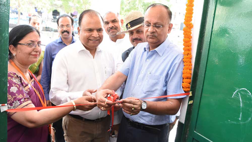 District Magistrate inaugurates 10 upgraded Government schools in Noida