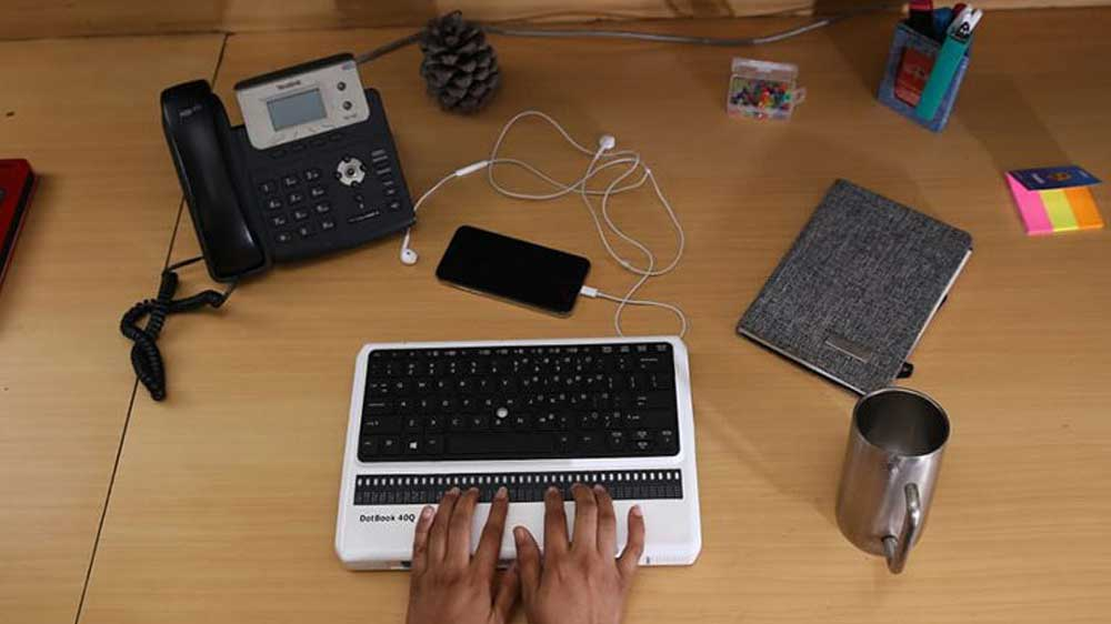 IIT-Delhi scientists develop India's first Braille laptop for visually-impaired