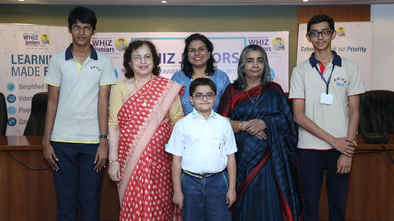 Whiz juniors 2017 discovers India's top 15 tech genius