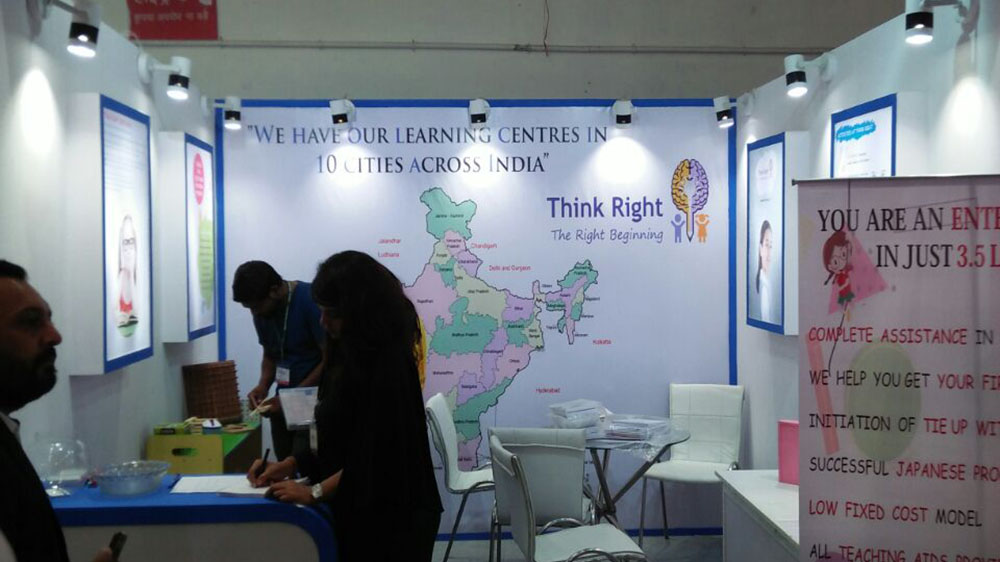 Develop Brain with fun activities with Think Right Franchise