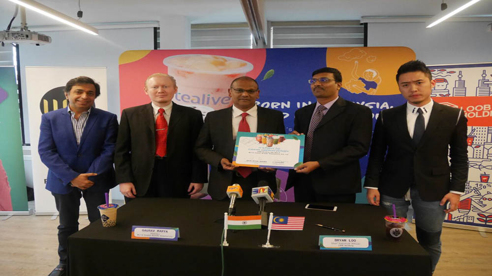 Malaysia's Tea brand Tealive ventures into India, Plans 140 Stores in 5 years