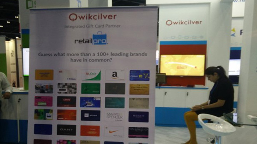 Qwikcilver has 300 brands on card platform