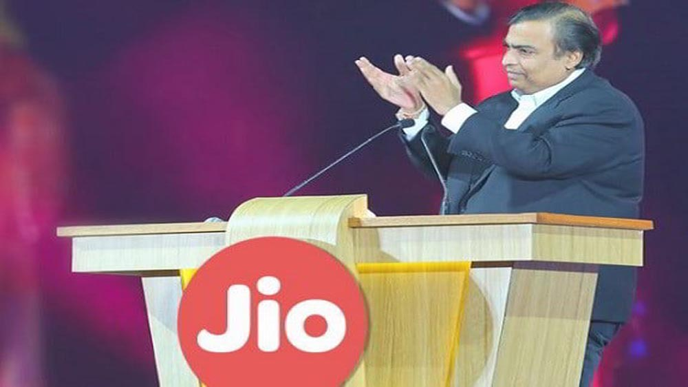 Reliance Jio promises to bring optical fibre to 1,100 towns across India