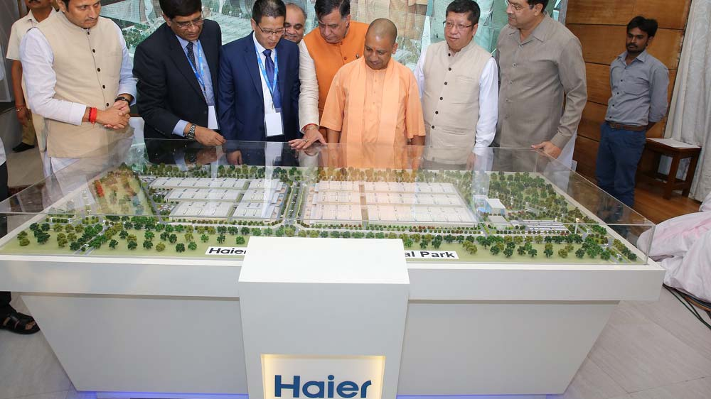 हायर का भारत  दूसरा औद्योगिक पार्क स्थापित