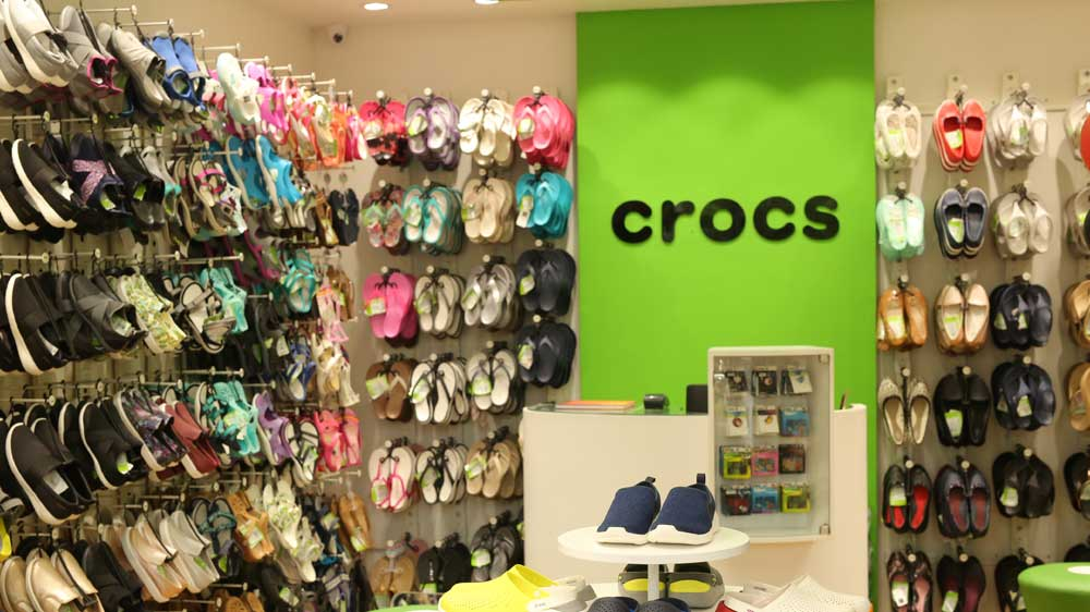 Crocs launches its 100th store in India