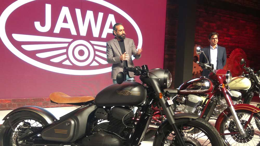 Czech motorcycle brand Jawa launches two outlets in Pune