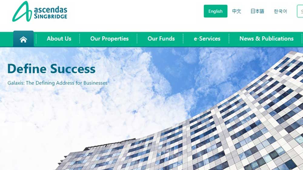 Ascendas-Singbridge eyes doubling commercial office portfolio