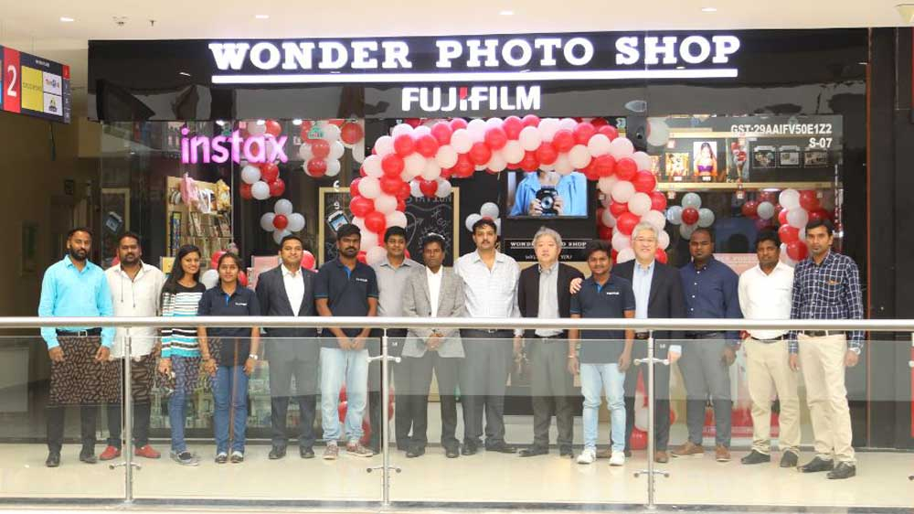 Fujifilm India launches its first 'WONDER PHOTO SHOP' in Bangalore