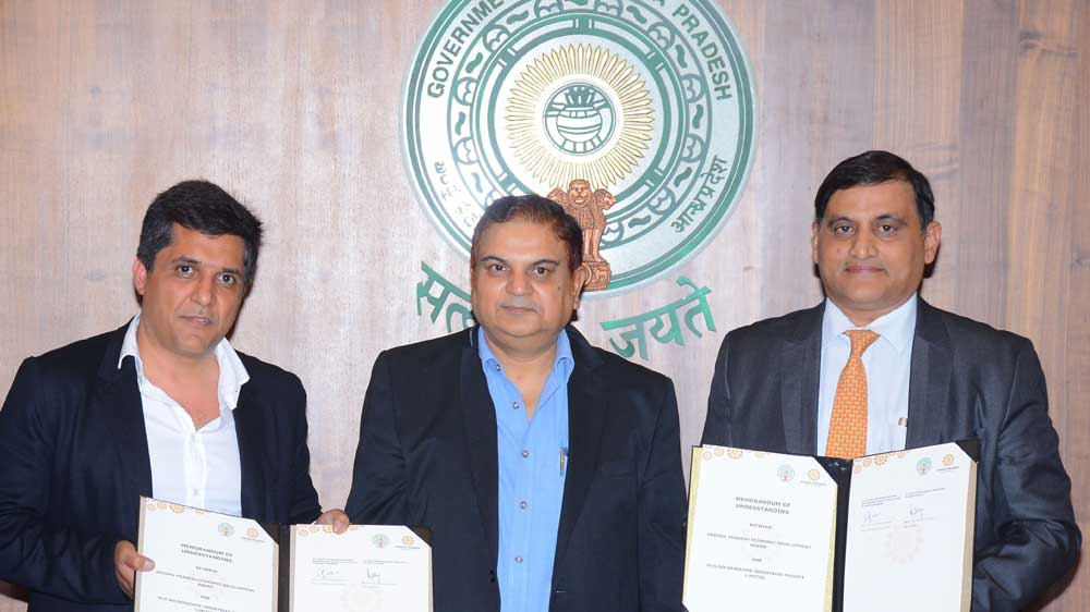 Goldenseams Industries Signs MoU with APEDB