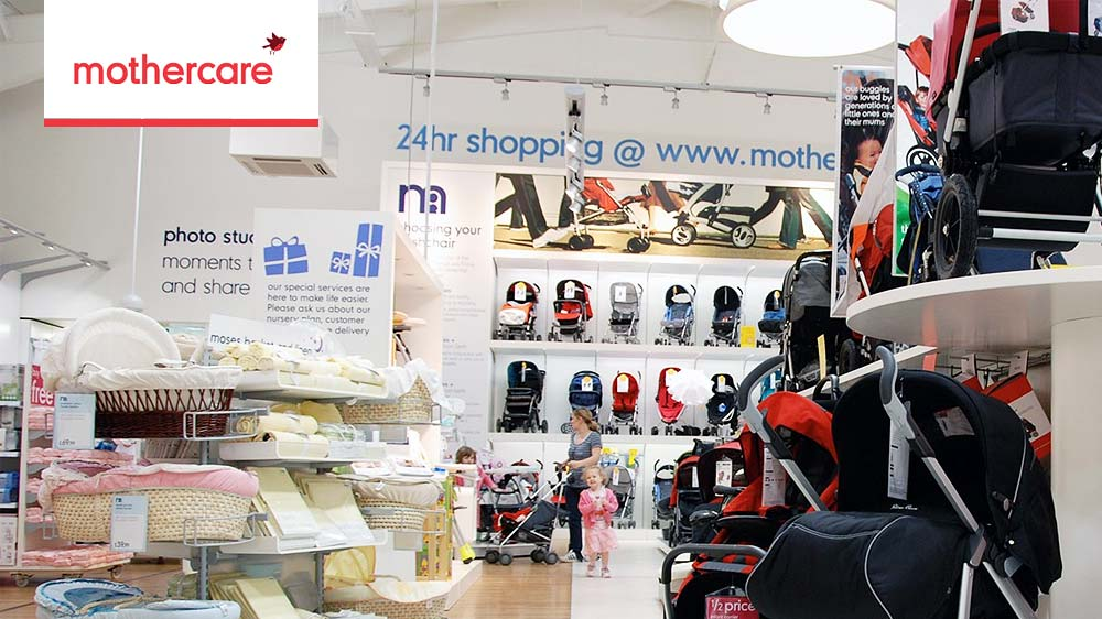 A light of opportunity from Mothercare Dark Stores soon
