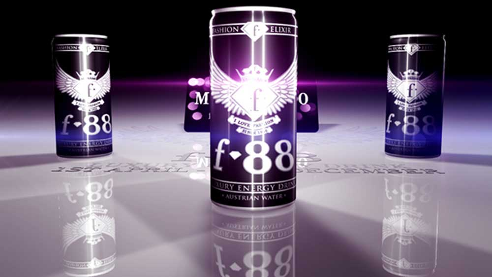 f88 Fashion energy drink to penetrate into Indian Energy drink market