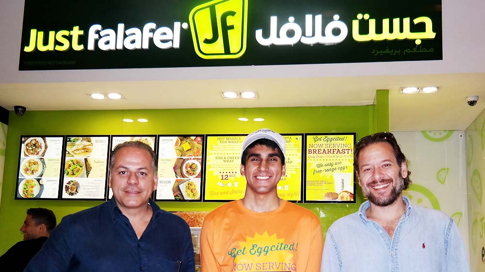Just Falafel set to enter India