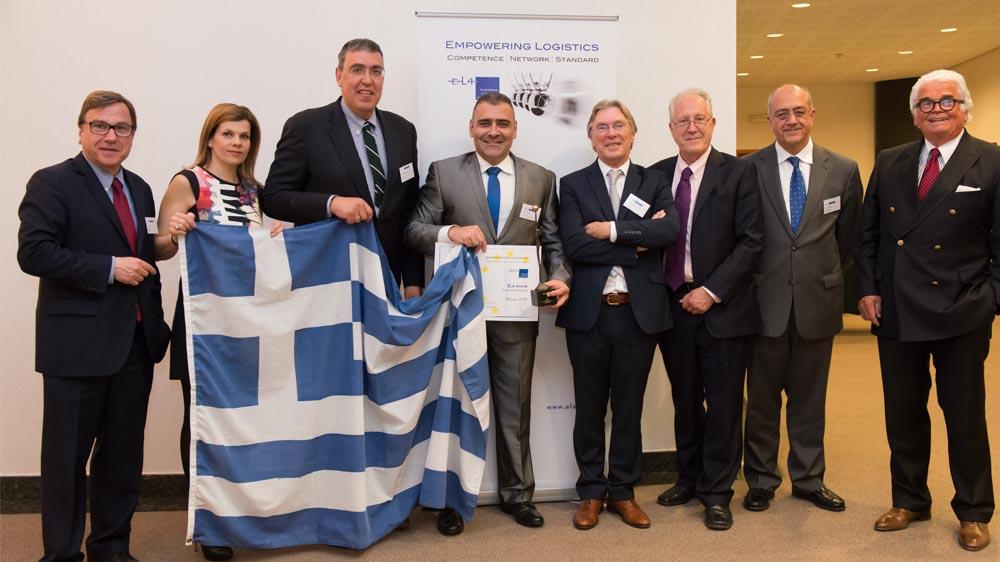 Greece receives ELA Award for European Professional of the Year 2016