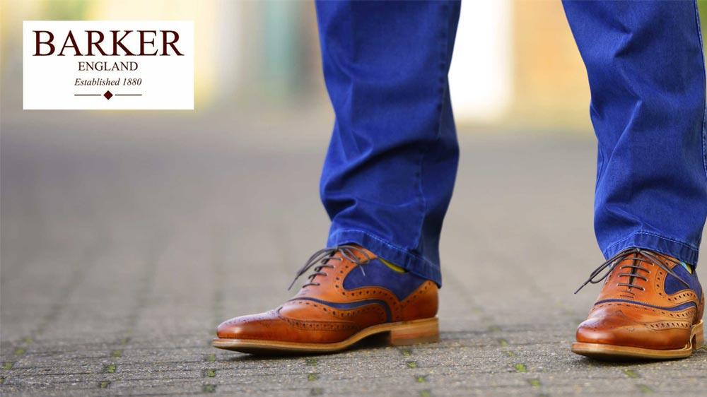 John Lewis Mens Barker Shoes