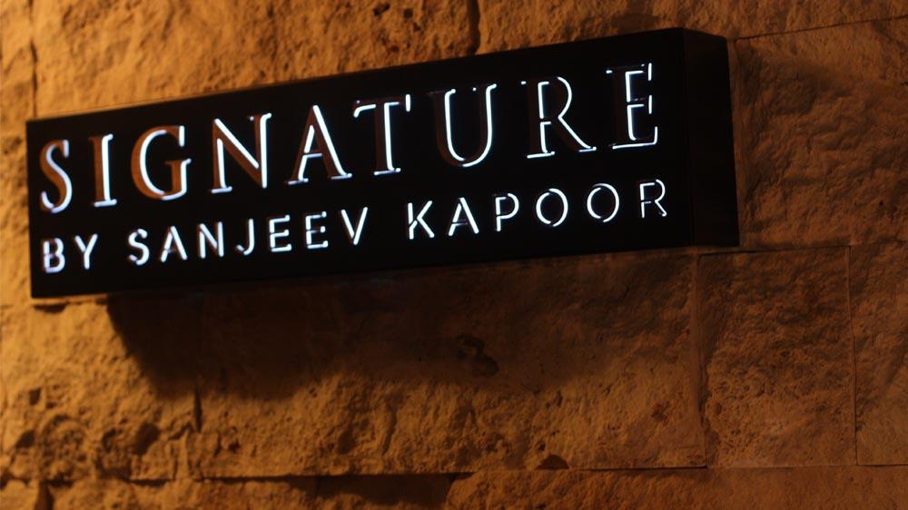 Sanjeev Kapoor's Signature now in Abu Dhabi