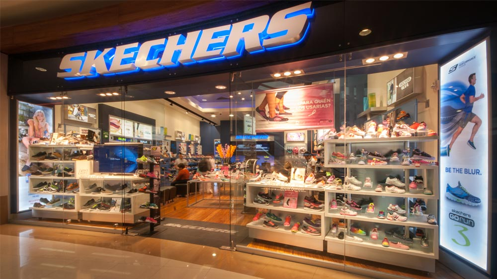 skechers showroom in india