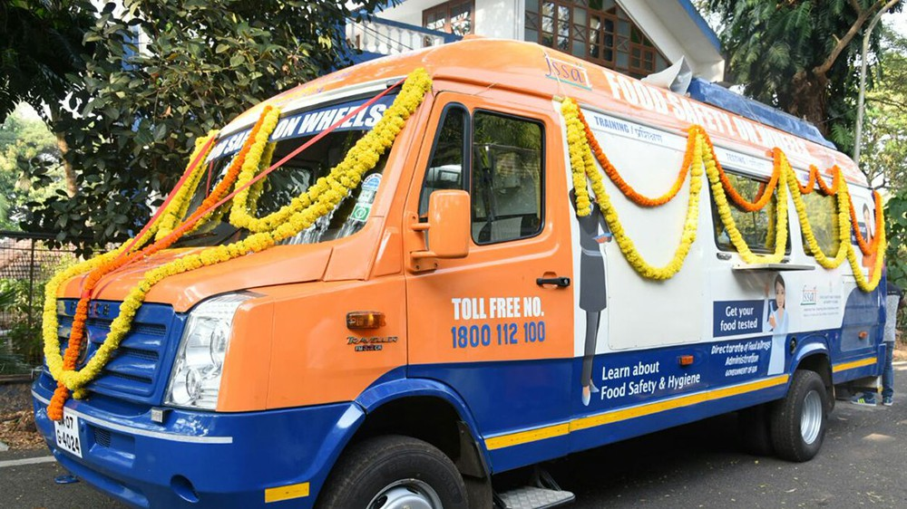 Mobile Food Testing Van Launched In Goa
