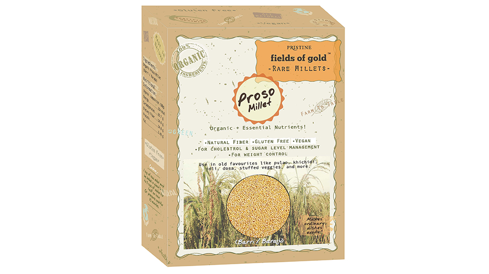Pristine Organics offers its individual range of Millet products