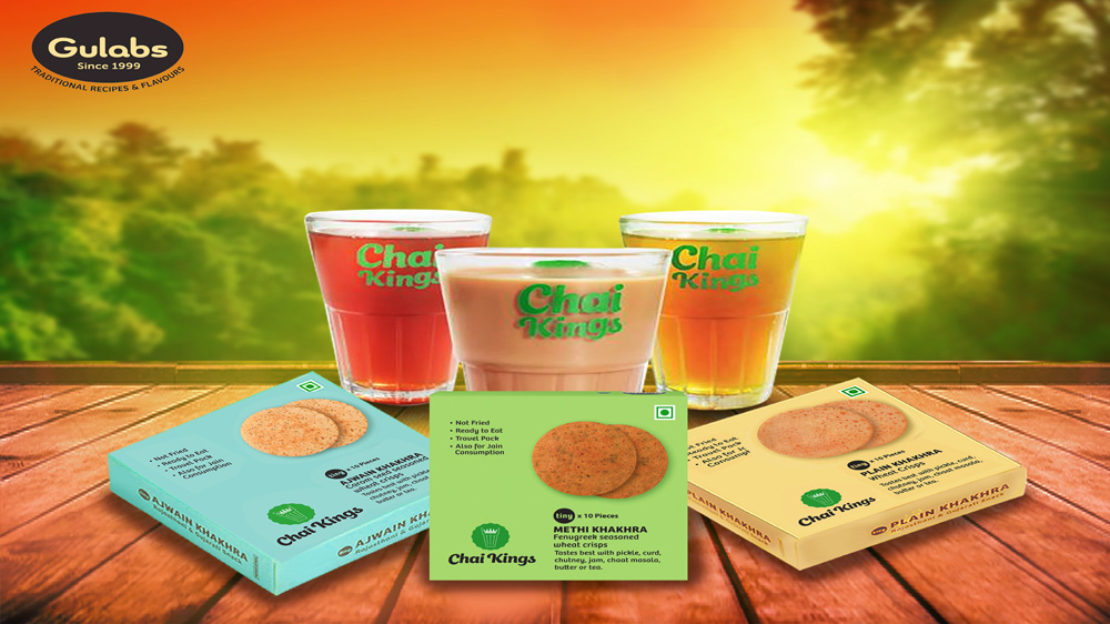 Snacks Maker 'Gulabs' Partners With Tea Outlet 'Chai Kings'