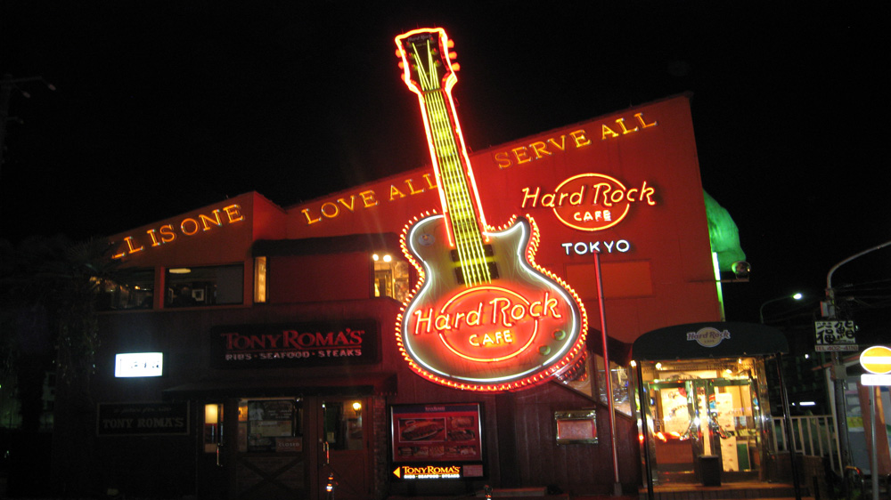 Hard Rock Cafe To start Six More outlets in three years