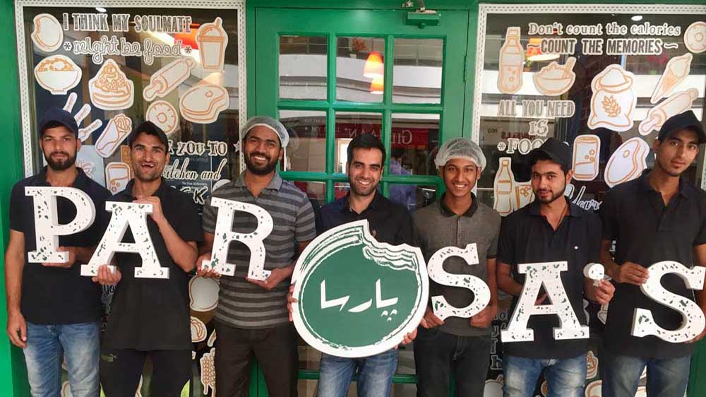 Kashmiri food chain Parsa's launches world's highest Kathi roll joint in Leh