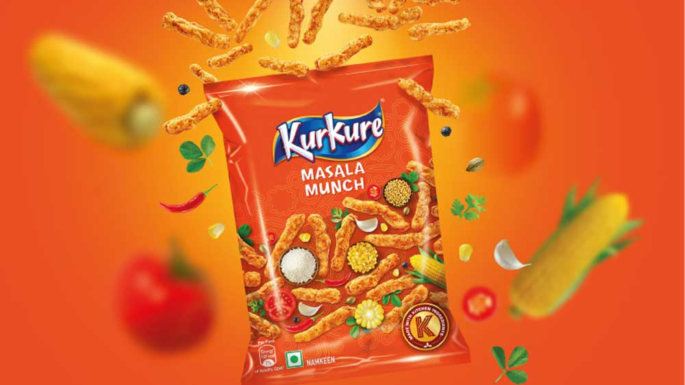 PepsiCo's salty snacks division brings 3 new flavours under Kurkure