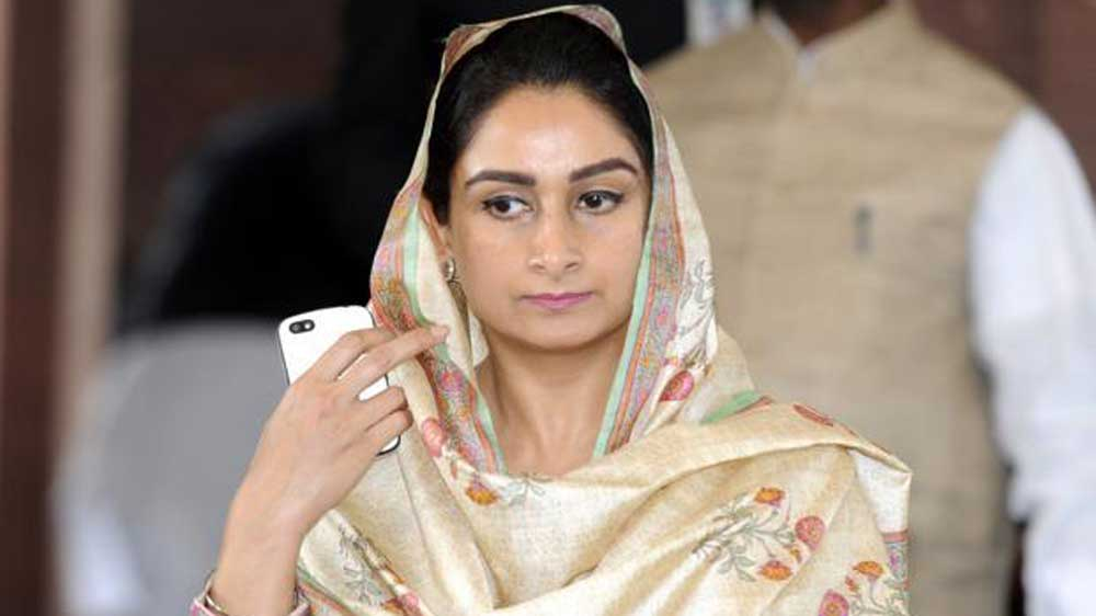 Harsimrat Kaur Badal says FDI in food processing sector touches $1-billion mark this year