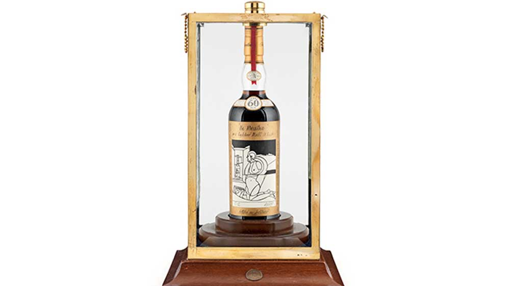 Macallan Valerio Adami 1926 whisky sold for over $1 million