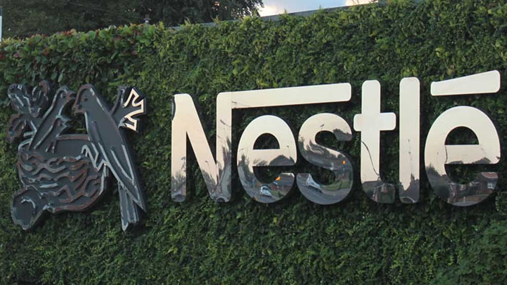 Nestle eyes 3% sales growth in 2018