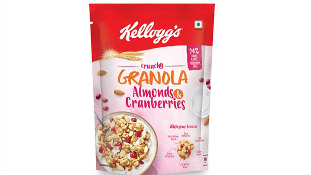 Kellogg India brings Kellogg's Crunchy Granola Almonds And Cranberries