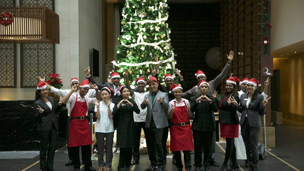 The Westin Hyderabad Mindspace spreads the Festive Fevour at the Tree Lighting Ceremony